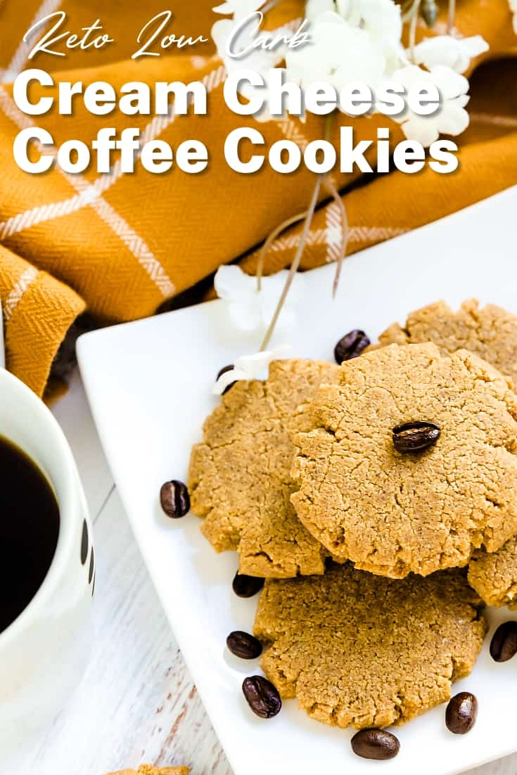 Keto Cream Cheese Coffee Cookies LowCarbingAsian Pin 2