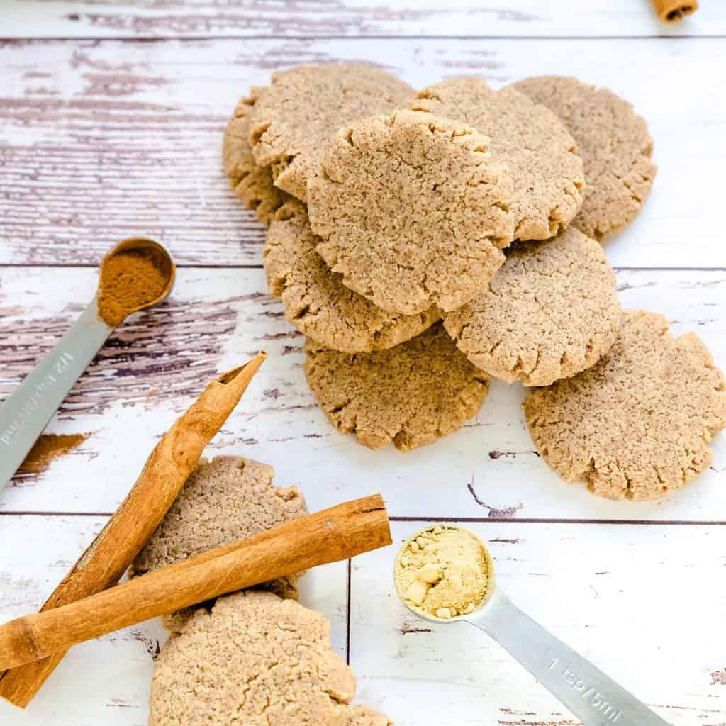 Keto Cream Cheese Ginger Cinnamon Cookies LowCarbingAsian Pic 2