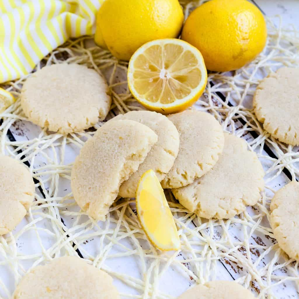 Keto Cream Cheese Lemon Drop Cookies LowCarbingAsian Pic 1
