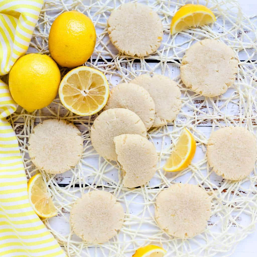 Keto Cream Cheese Lemon Drop Cookies LowCarbingAsian Pic 2