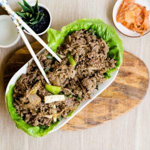 Keto Korean BBQ Bulgogi Marinade LowCarbingAsian Cover
