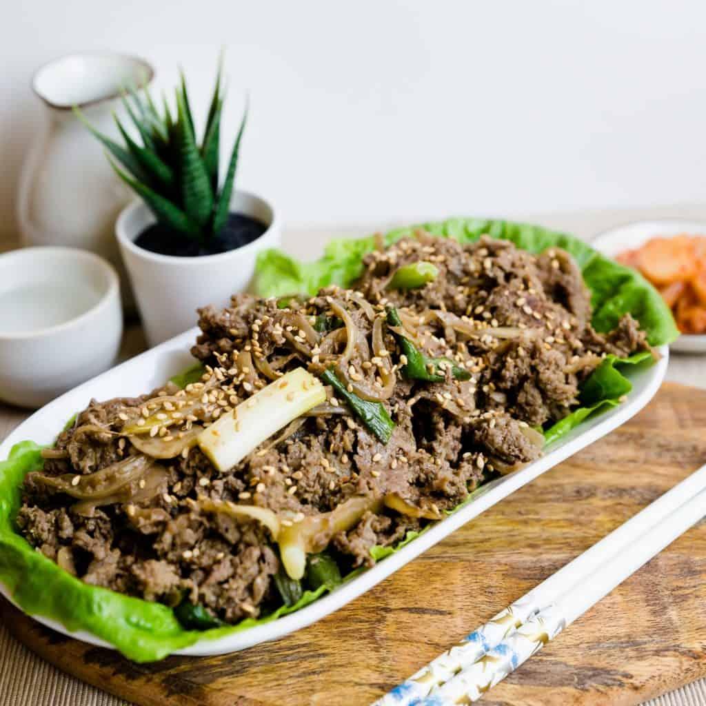 Keto Korean BBQ Bulgogi Marinade LowCarbingAsian Pic