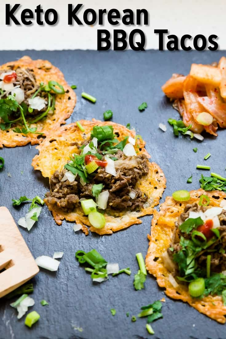 Keto Korean BBQ Tacos LowCarbingAsian Pin 2