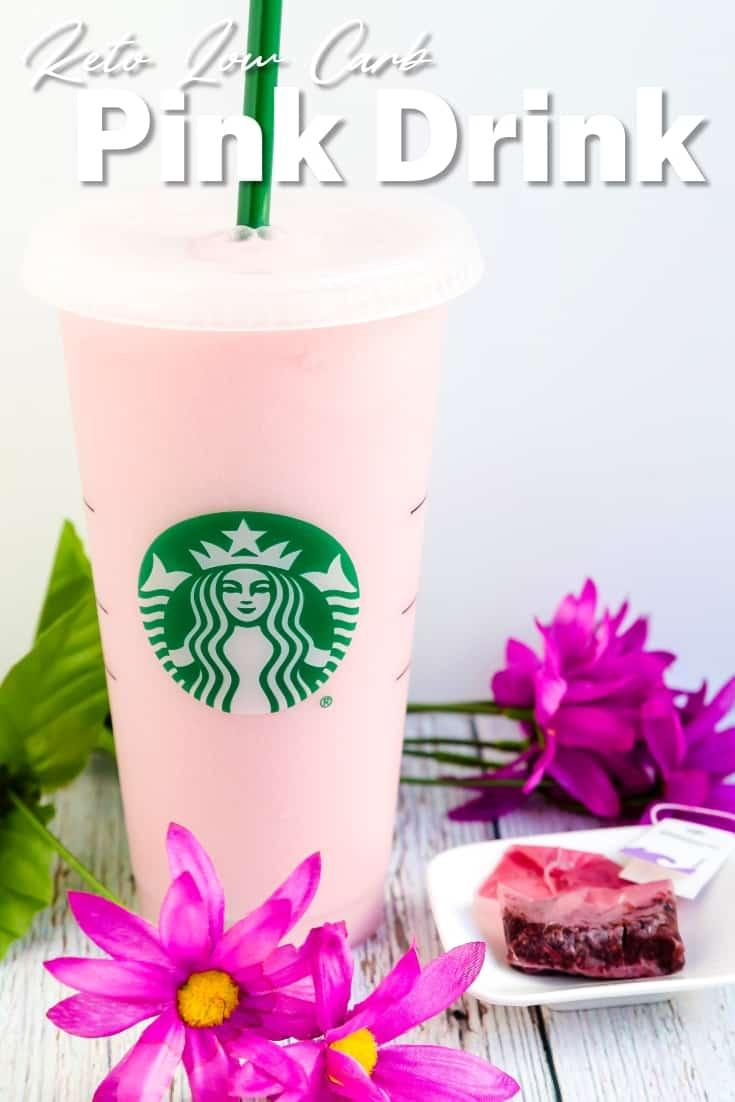 Keto Starbucks Pink Drink LowCarbingAsian Pin 1