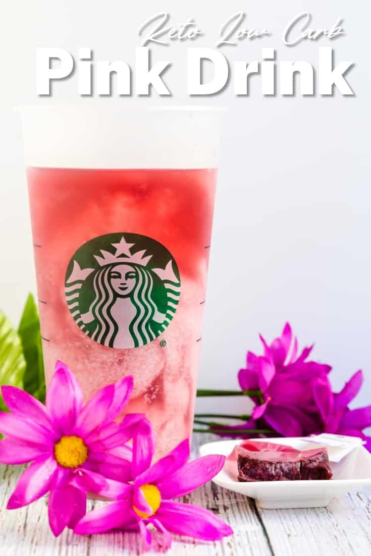 Keto Starbucks Pink Drink LowCarbingAsian Pin 2