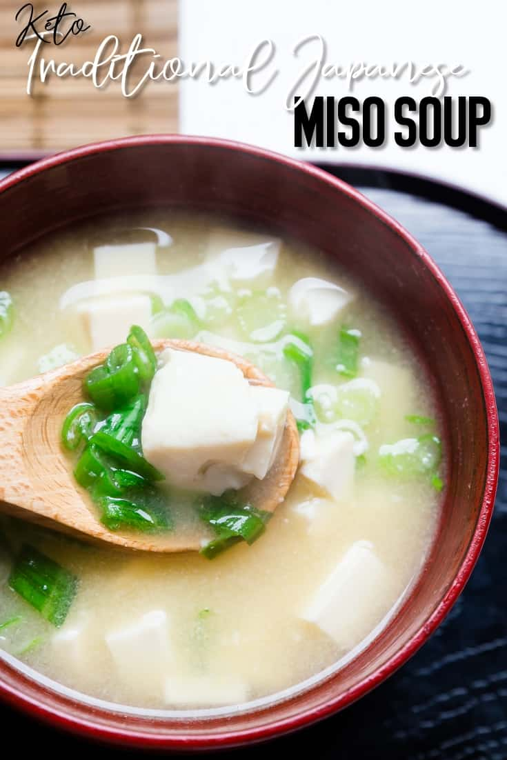 Keto Traditional Miso Soup LowCarbingAsian Pin 2