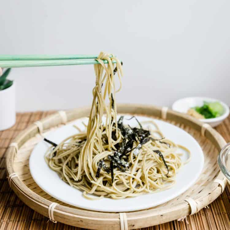 Low Carb Japanese Soba LowCarbingAsian Cover