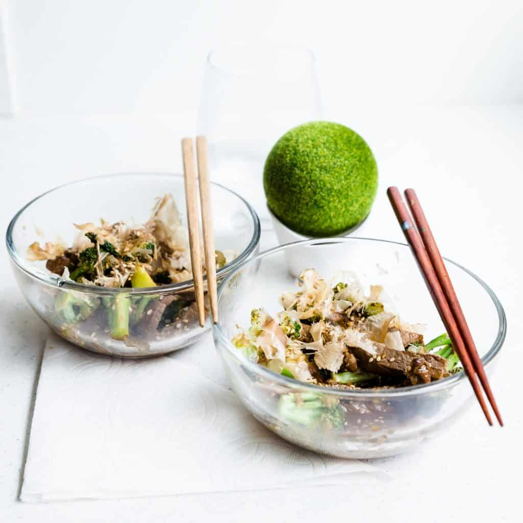 Sweet Japanese BBQ Beef n' Broccoli LowCarbingAsian Pic