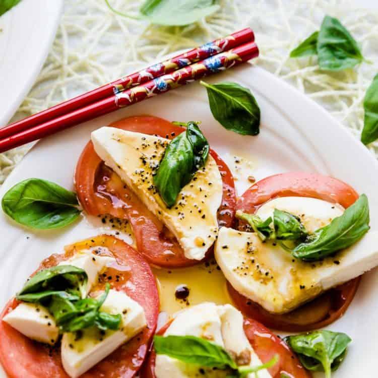 Tomato Basil Mozzarella Bites LowCarbingAsian Cover