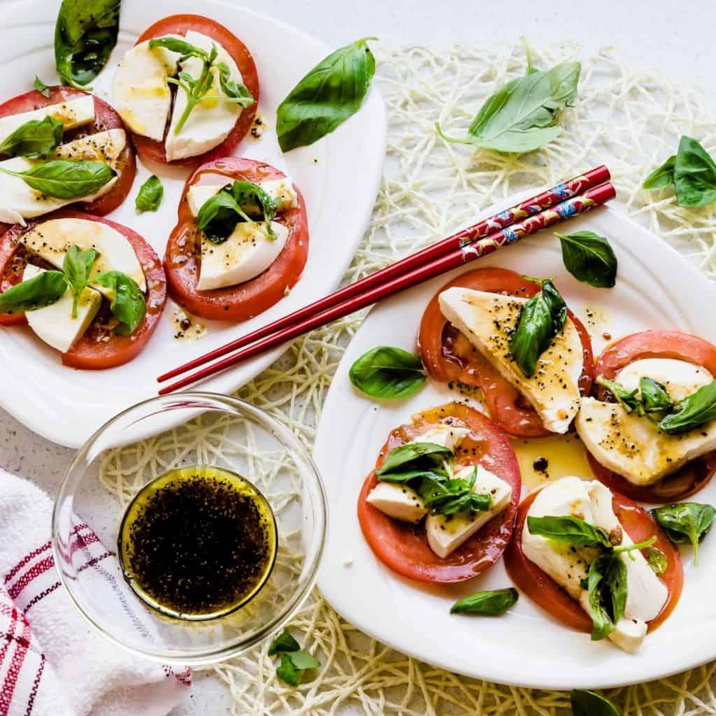 Tomato Basil Mozzarella Bites LowCarbingAsian Pic