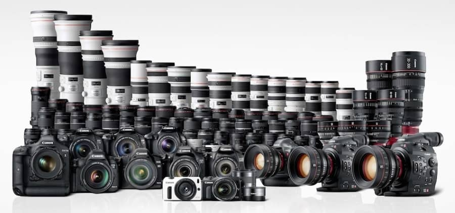 Canon Line Up