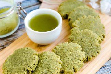 Keto Cream Cheese Matcha Cookies LowCarbingAsian Cover