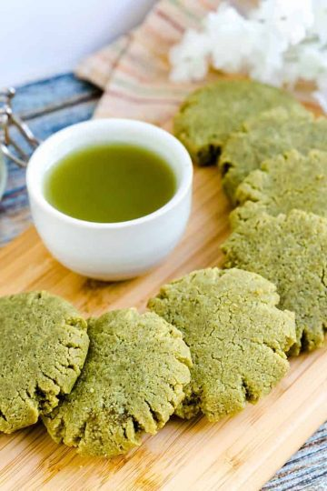 Keto Cream Cheese Matcha Cookies LowCarbingAsian Cover
