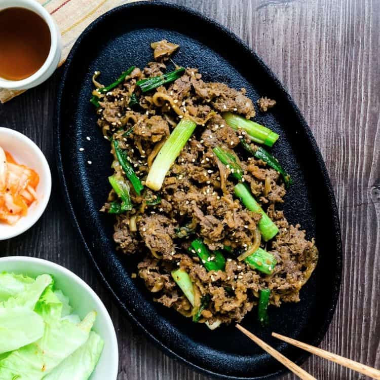 Keto Korean BBQ Bulgogi Marinade LowCarbingAsian Cover