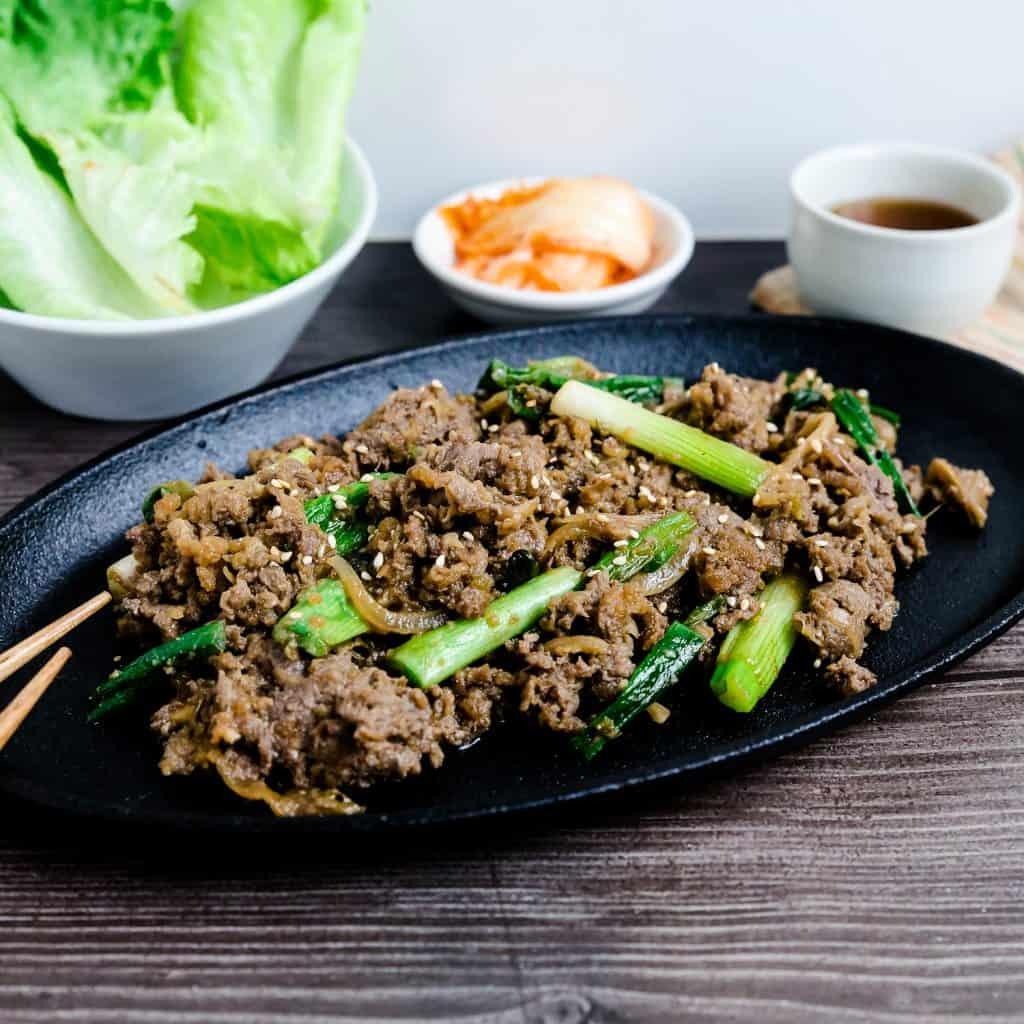 Keto Korean BBQ Bulgogi Marinade LowCarbingAsian Pic 1
