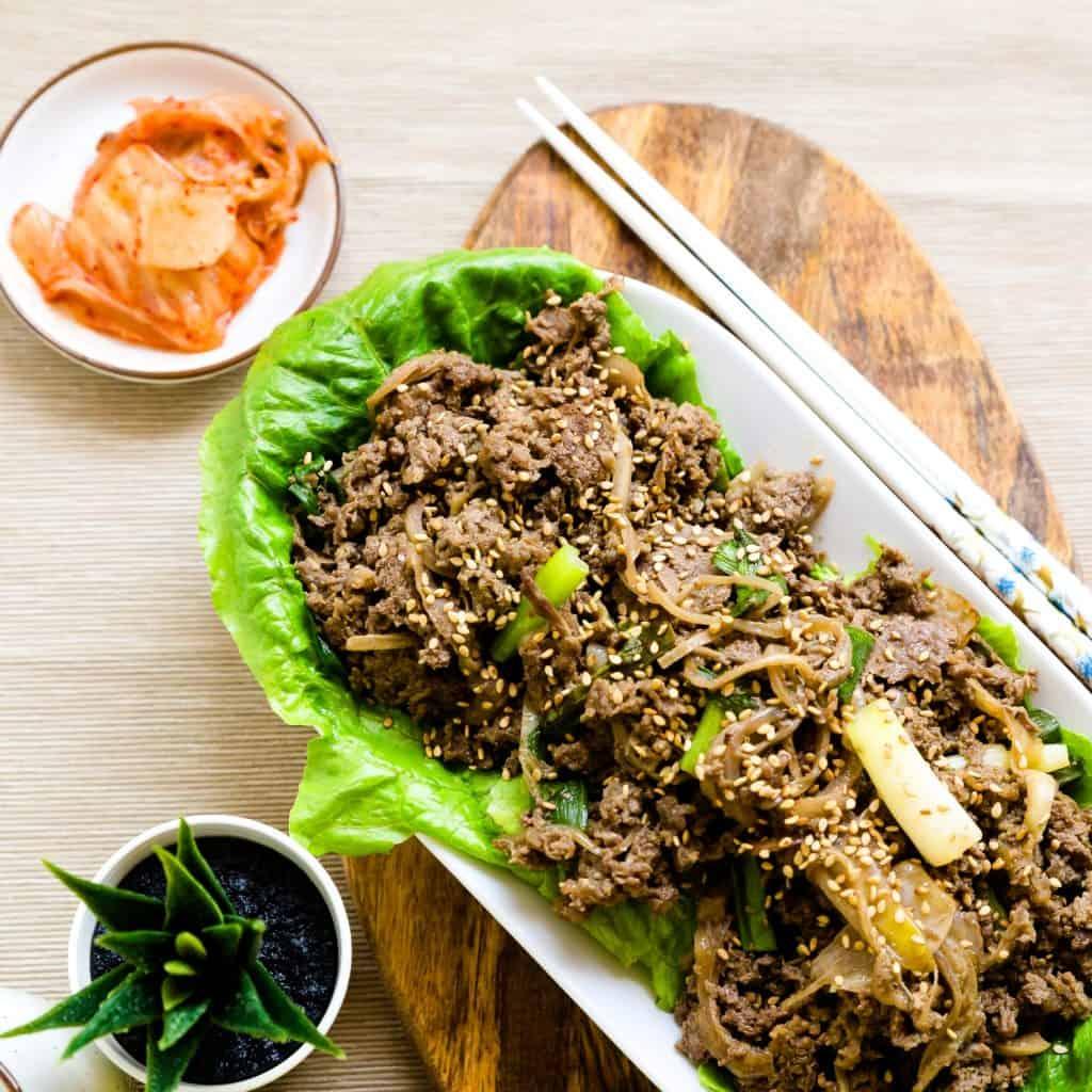 Keto Korean BBQ Bulgogi Marinade LowCarbingAsian Pic 2