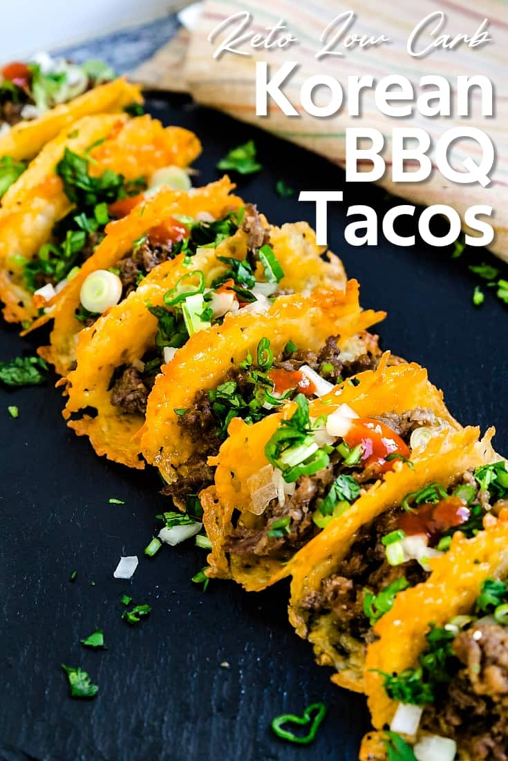 Keto Low Carb Korean BBQ Tacos