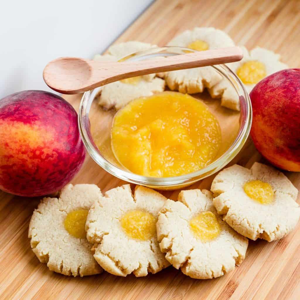 Keto Peach Cream Cookies LowCarbingAsian Pic