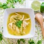 Keto Peruvian Chicken Soup - Aguadito de Pollo (17)