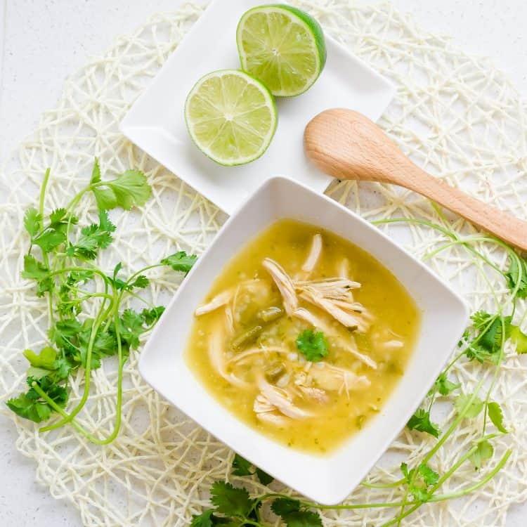 Keto Peruvian Chicken Soup - Aguadito de Pollo LowCarbingAsian Cover