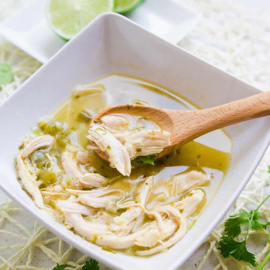 Keto Peruvian Chicken Soup - Aguadito de Pollo LowCarbingAsian Pic 1