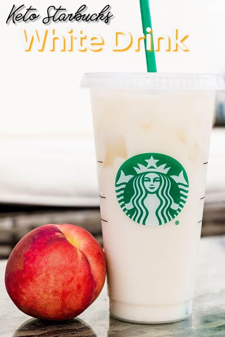 Keto Starbucks White Drink LowCarbingAsian Pin 1