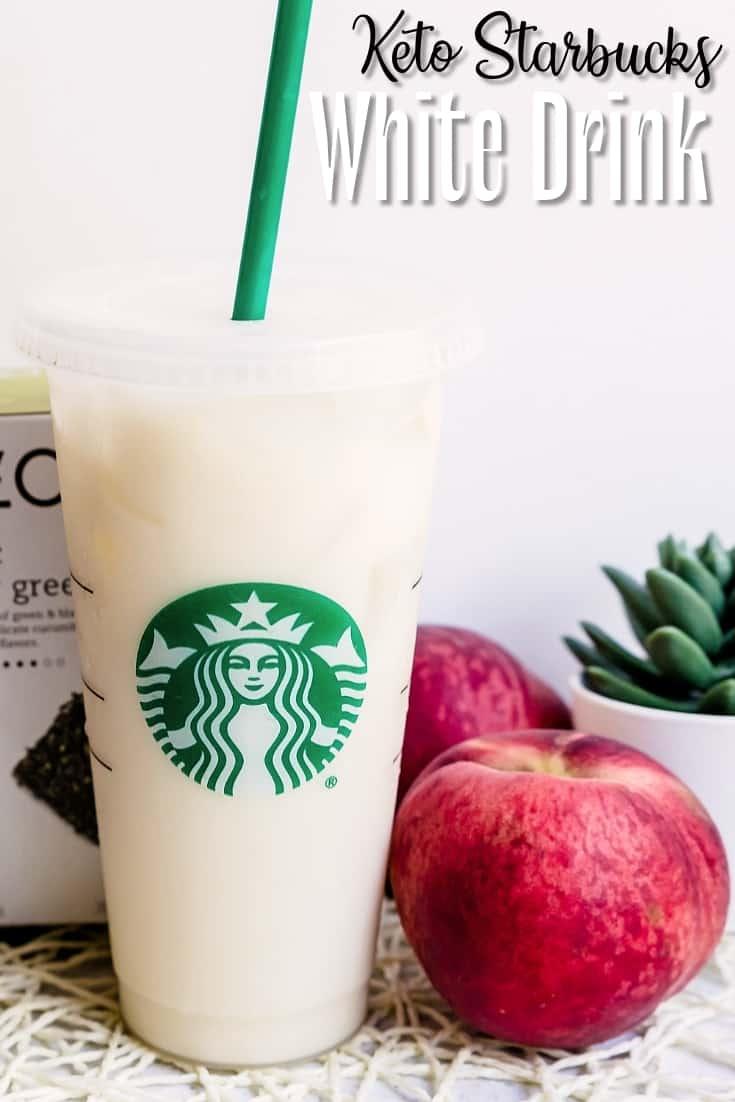 Keto Starbucks White Drink LowCarbingAsian Pin 2