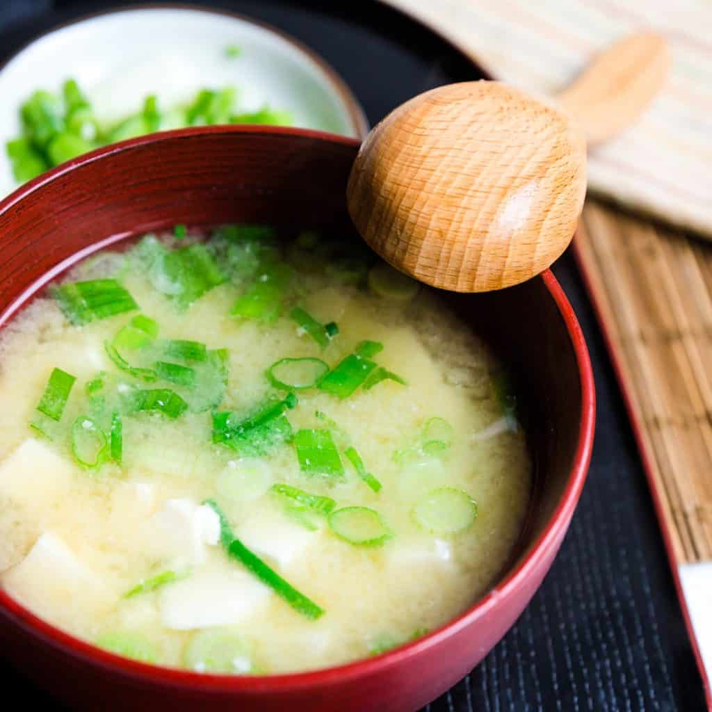 Keto Traditional Miso Soup LowCarbingAsian Pic 2