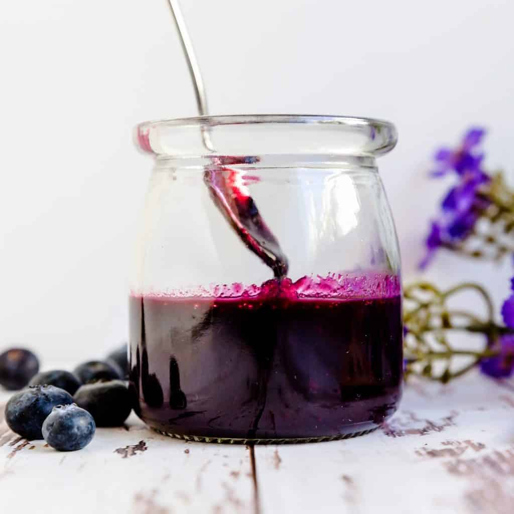 Low Carb Blueberry Sauce LowCarbingAsian Pic 1