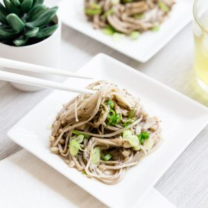 Low Carb Garlic Enoki Mushroom LowCarbingAsian Cover