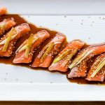 Sesame Ginger Salmon Carpaccio Recipe (16)