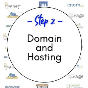 How to Start a Website - Step 2 Domain and Hosting