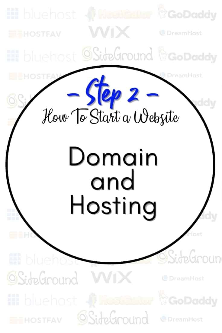 Picking a domain and hosting - In step 2, we will share our experience with about different hosting companies and how choosing the right one can literally make or break your website.