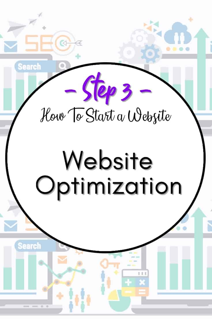 Website optimization - In step 3, we will share our tips on how to optimize your website from the get-go. Website speed matters and it's better to have everything set right from the start.