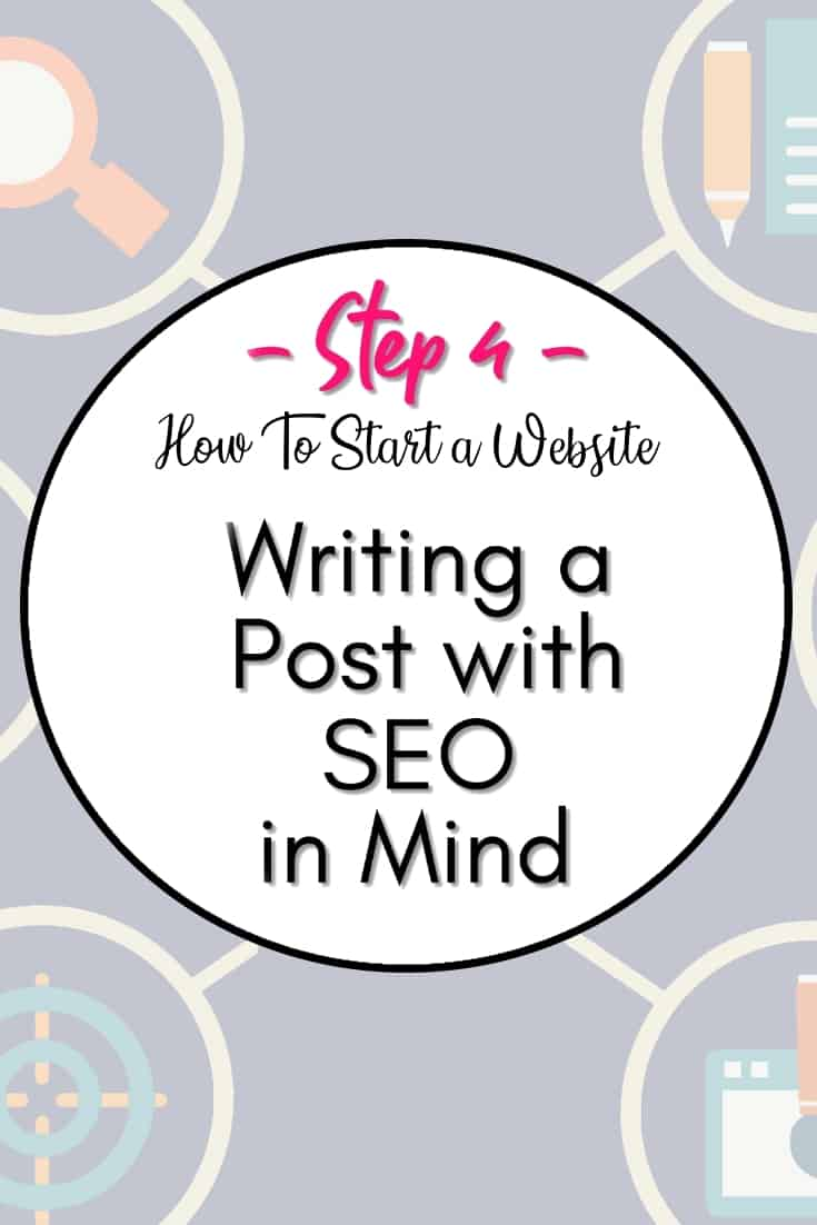 Writing a post for SEO score - In step 4, we will go into the different techniques and points to keep in mind when writing posts. Posts are only good if people read them, and for that to happen, your posts to need to be SEO friendly.
