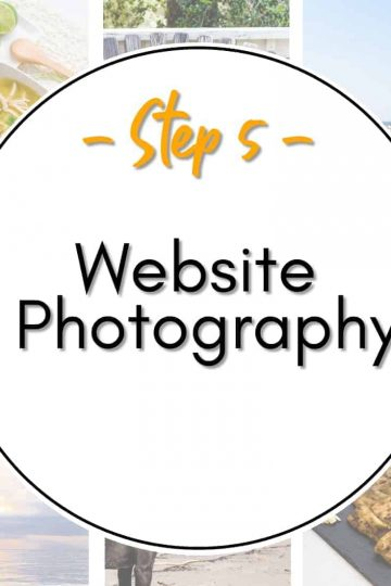 Step 5 Website Photography