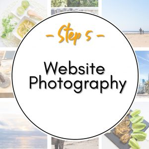 How to Start a Website - Step 5 Website Photography