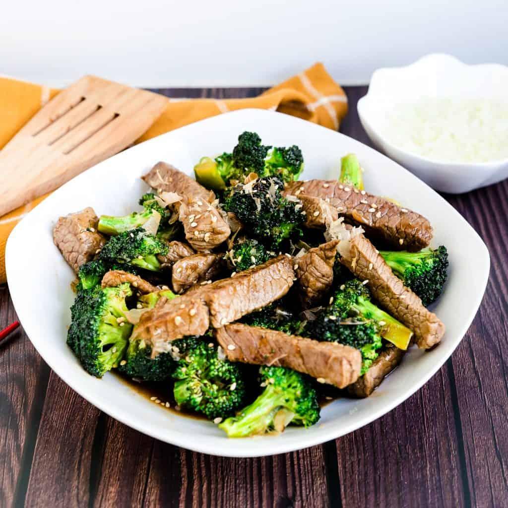 Sweet Japanese BBQ Beef n' Broccoli LowCarbingAsian Pic 2