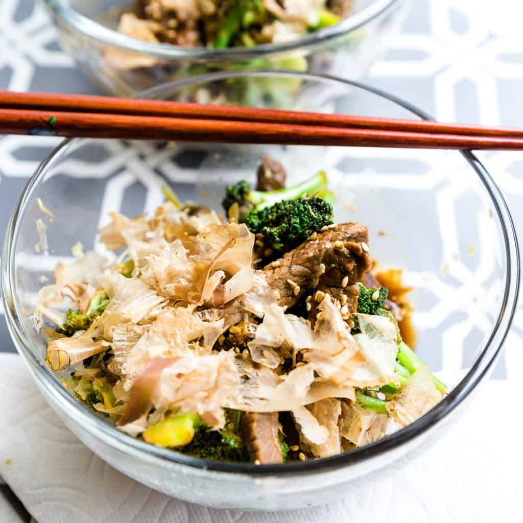 Sweet Japanese BBQ Beef n' Broccoli LowCarbingAsian Pic 2