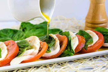 Tomato Basil Mozzarella Bites