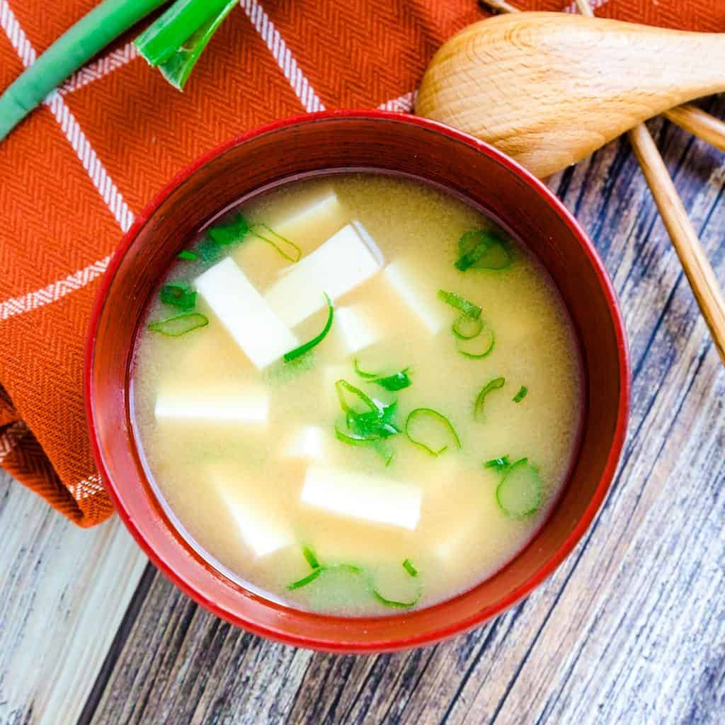 Traditional Japanese Miso Soup LowCarbingAsian Pic 2