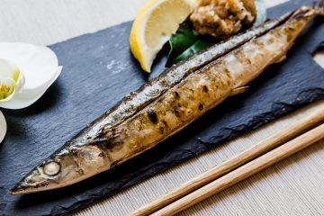 BBQ Grilled Pacific Saury - Sanma LowCarbingAsian Cover