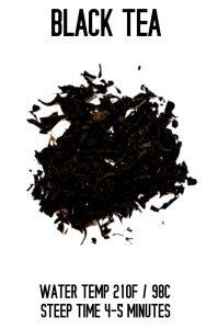 Black Tea Steep Info