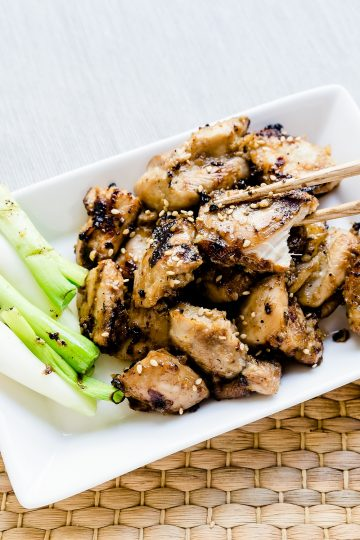 Keto Korean BBQ Marinated Chicken LowCarbingAsian Cover