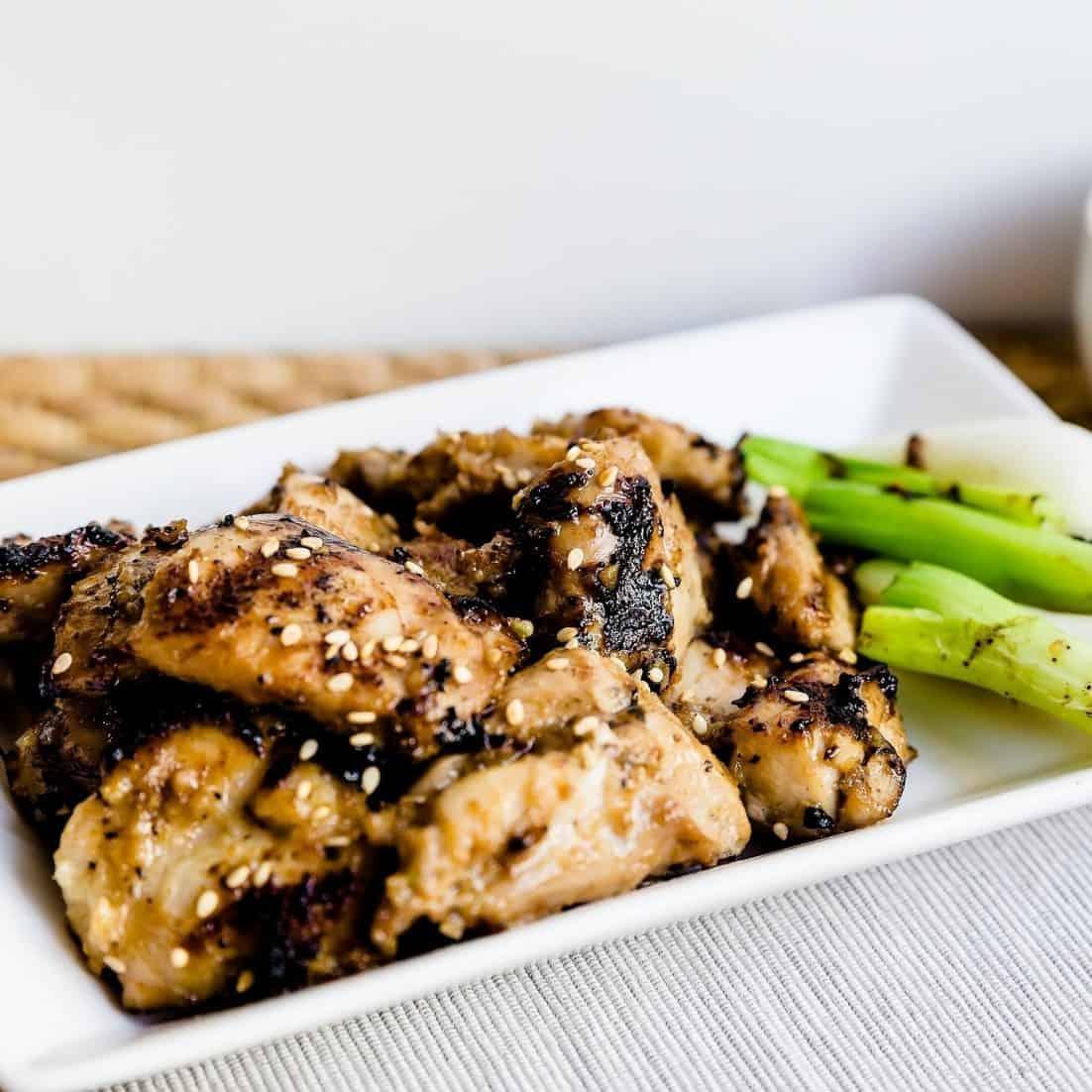 Keto Korean BBQ Marinated Chicken LowCarbingAsian Pic
