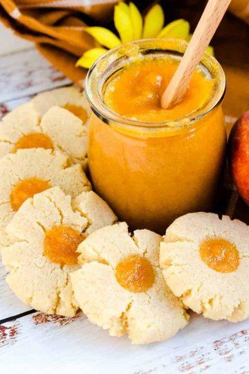 Keto Peach Cream Cheese Cookies