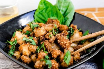 Keto Popcorn Fried Chicken LowCarbingAsian Cover