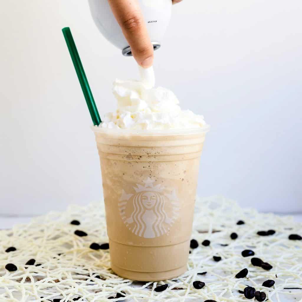 Keto Starbucks Copycat Coffee Frappuccino LowCarbingAsian Pic 1