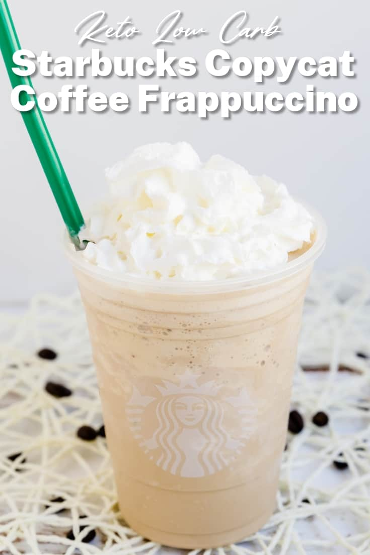 Keto Low Carb Starbucks Copycat Coffee Frappuccino