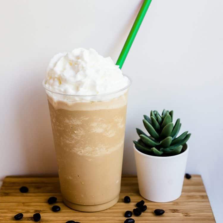 Keto Starbucks Copycat Frappuccino LowCarbingAsian Cover